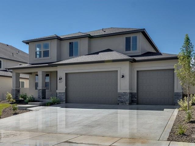 837 E Crest Ridge Dr., Meridian, ID 83642 (MLS #98702764) :: Build Idaho