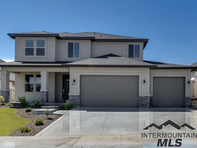 837 E Crest Ridge Dr., Meridian, ID 83642 (MLS #98716657) :: Minegar Gamble Premier Real Estate Services