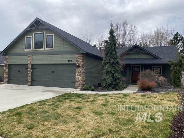 699 N Shadowridge, Eagle, ID 83616 (MLS #98762503) :: Full Sail Real Estate