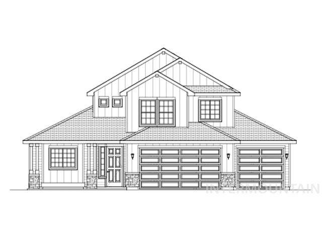 3446 N Sirocco Ave, Meridian, ID 83646 (MLS #98791788) :: Hessing Group Real Estate