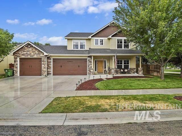 2349 W Boulder Bar Dr, Meridian, ID 83646 (MLS #98812981) :: City of Trees Real Estate