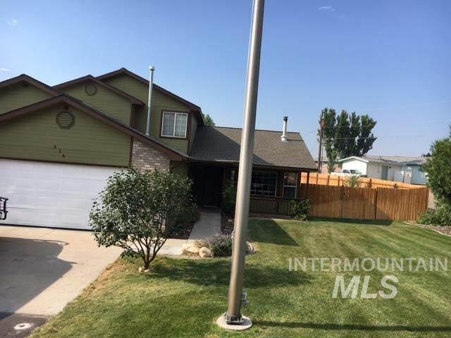 516 Aurora Dr, Nampa, ID 83686 (MLS #98813923) :: Minegar Gamble Premier Real Estate Services