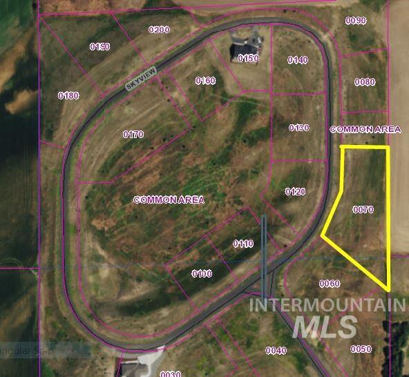 TBD Sky View Loop (Lot 7), Moscow, ID 83843 (MLS #98678980) :: Boise River Realty