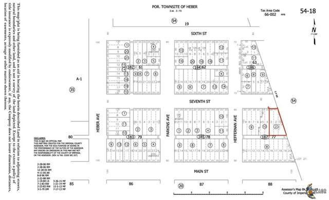 0 E 7th St, Heber, CA 92249 (MLS #21782264IC) :: DMA Real Estate