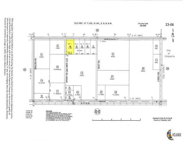 77 W Eddins Rd, Calipatria, CA 92233 (MLS #18408630IC) :: DMA Real Estate