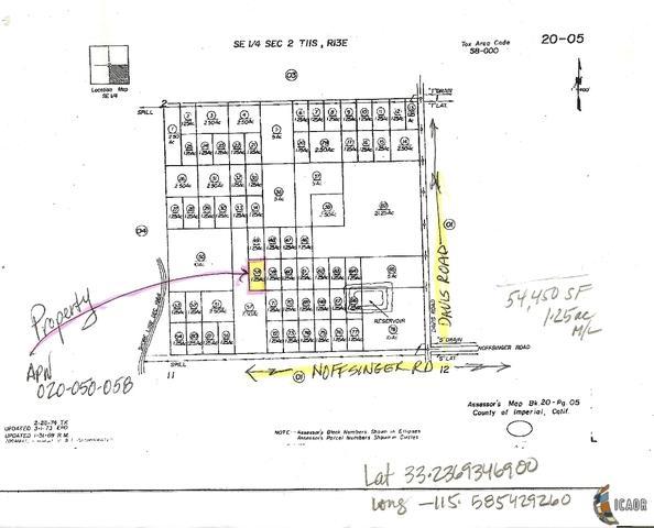 0 Davis-Noffsinger, Calipatria, CA 92233 (MLS #19493684IC) :: DMA Real Estate