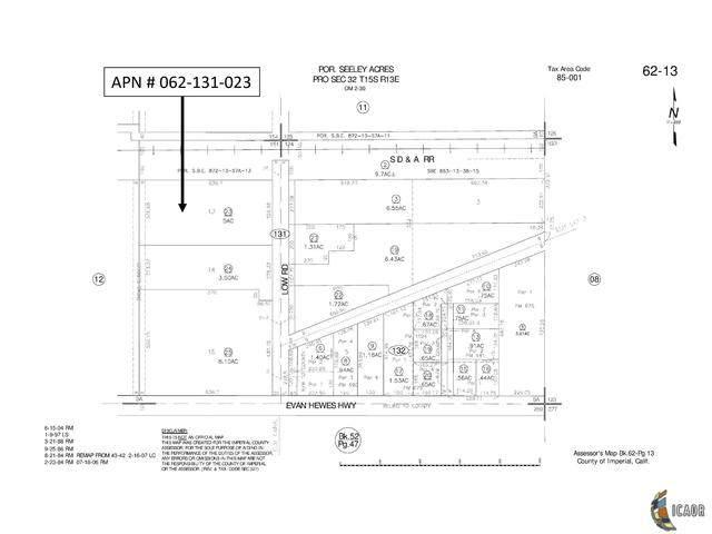 1402-#1404 W Evan Hewes, Seeley, CA 92273 (MLS #20566618IC) :: DMA Real Estate
