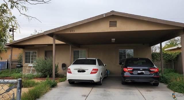 933 E 6TH St, Calexico, CA 92231 (MLS #20585244IC) :: DMA Real Estate