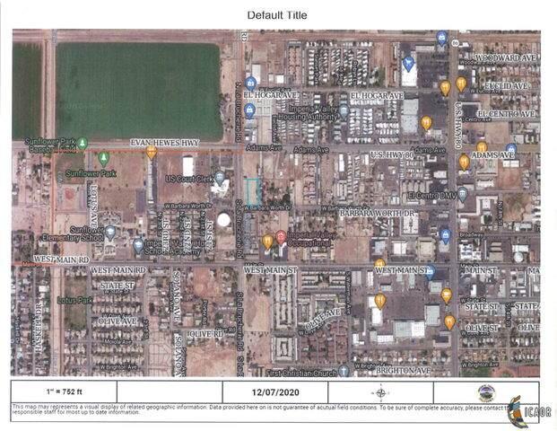 1998 W Barbara Worth Dr, El Centro, CA 92243 (MLS #20668230IC) :: DMA Real Estate