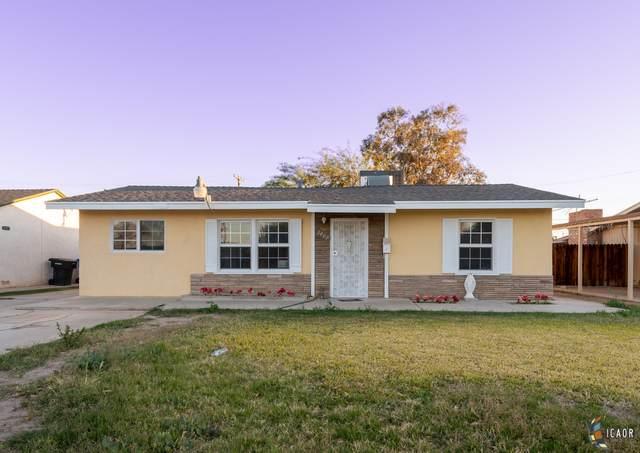 1409 Woodward Ave, El Centro, CA 92243 (MLS #21700620IC) :: DMA Real Estate