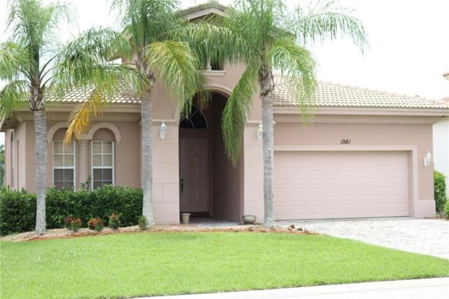 1981 Newmark Circle, Vero Beach, FL 32968 (MLS #207338) :: Billero & Billero Properties