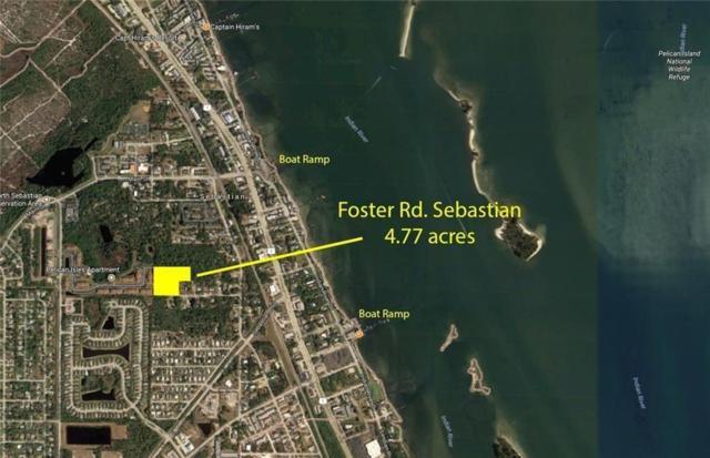 0 Foster Road, Sebastian, FL 32958 (MLS #219715) :: Billero & Billero Properties