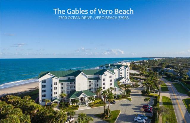 2700 Ocean Drive #302, Vero Beach, FL 32963 (MLS #222145) :: Billero & Billero Properties