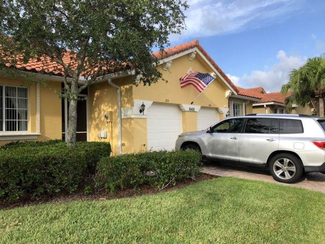 6465 Oxford Circle 103C, Vero Beach, FL 32966 (MLS #225774) :: Billero & Billero Properties