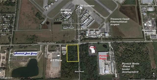 TBD St Lucie Boulevard, Fort Pierce, FL 34946 (MLS #225778) :: Billero & Billero Properties