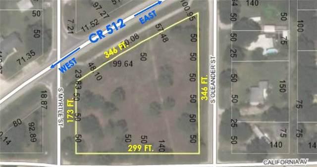 30 S Oleander Street, Fellsmere, FL 32948 (MLS #225921) :: Billero & Billero Properties