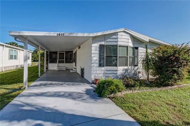 1037 Sebastian Road, Barefoot Bay, FL 32976 (MLS #228982) :: Billero & Billero Properties