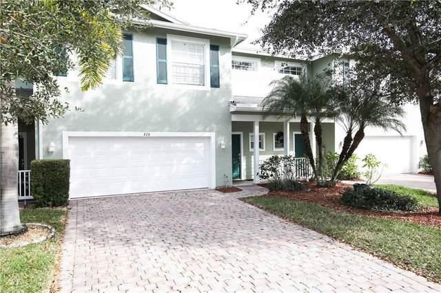 676 Bent Paddle Lane #676, Port Saint Lucie, FL 34983 (MLS #230474) :: Billero & Billero Properties
