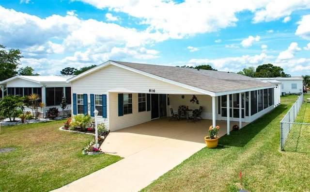 816 Oriole Circle, Barefoot Bay, FL 32976 (MLS #231348) :: Team Provancher | Dale Sorensen Real Estate