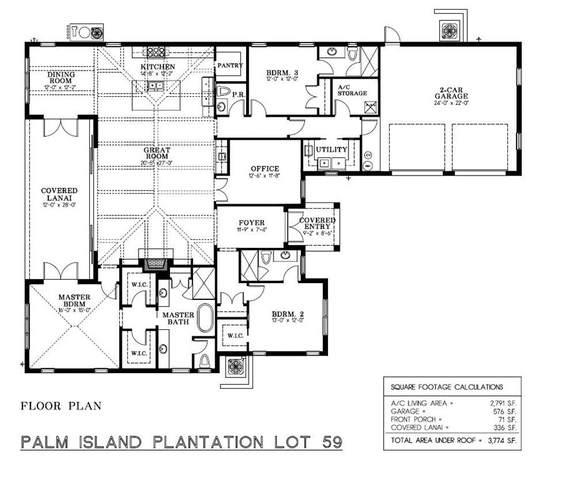 280 Palm Island Lane, Vero Beach, FL 32963 (MLS #232960) :: Team Provancher | Dale Sorensen Real Estate