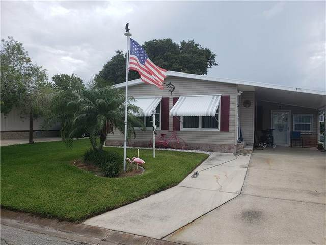 715 Amaryllis Drive, Barefoot Bay, FL 32976 (MLS #233454) :: Billero & Billero Properties