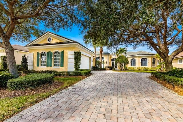 1712 Lake Club Court, Indian River Shores, FL 32963 (MLS #234370) :: Team Provancher | Dale Sorensen Real Estate