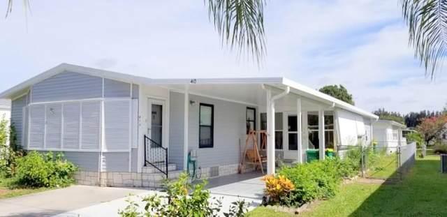410 Papaya Circle, Barefoot Bay, FL 32976 (MLS #234616) :: Team Provancher | Dale Sorensen Real Estate
