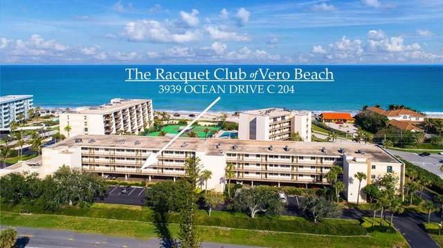 3939 Ocean Drive 204C, Vero Beach, FL 32963 (MLS #236589) :: Team Provancher | Dale Sorensen Real Estate