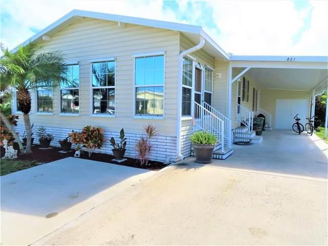 831 Lychee Drive, Barefoot Bay, FL 32976 (MLS #237011) :: Team Provancher | Dale Sorensen Real Estate