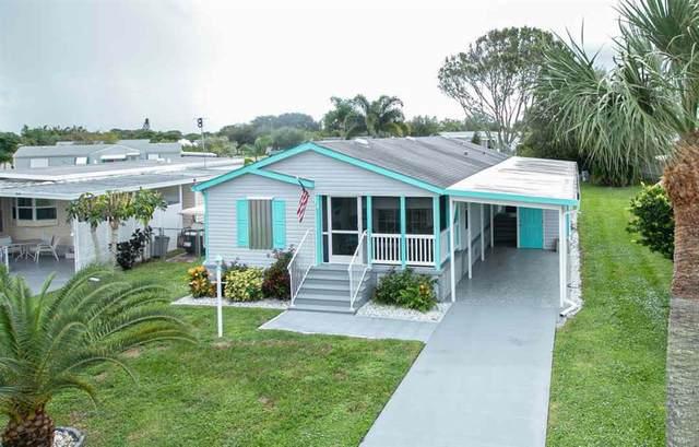 921 Barefoot Boulevard, Barefoot Bay, FL 32976 (MLS #237058) :: Team Provancher | Dale Sorensen Real Estate
