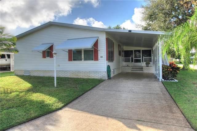 581 Dolphin Circle, Barefoot Bay, FL 32976 (MLS #237064) :: Team Provancher | Dale Sorensen Real Estate
