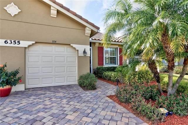 6355 Oxford Circle 104D, Vero Beach, FL 32966 (MLS #240124) :: Team Provancher | Dale Sorensen Real Estate