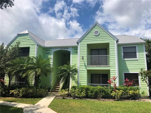 1115 3rd Avenue #103, Vero Beach, FL 32960 (MLS #242778) :: Team Provancher   Dale Sorensen Real Estate