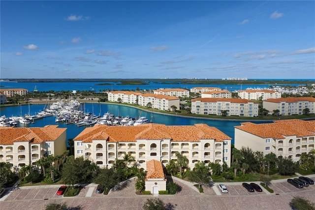 16 Harbour Isle Drive #305, Fort Pierce, FL 34949 (MLS #244995) :: Team Provancher | Dale Sorensen Real Estate