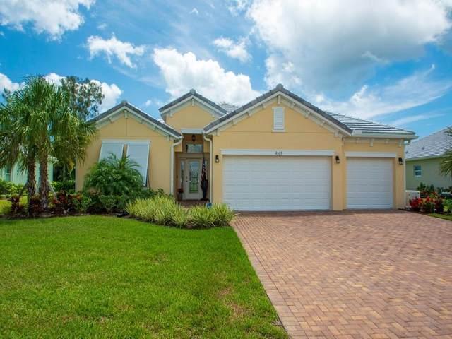 2529 Saint Lucia Circle, Vero Beach, FL 32967 (MLS #245505) :: Team Provancher   Dale Sorensen Real Estate