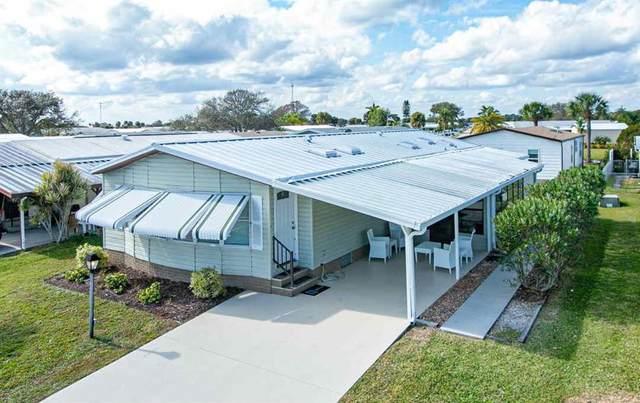 850 Periwinkle Circle, Barefoot Bay, FL 32976 (MLS #246437) :: Kelly Fischer Team
