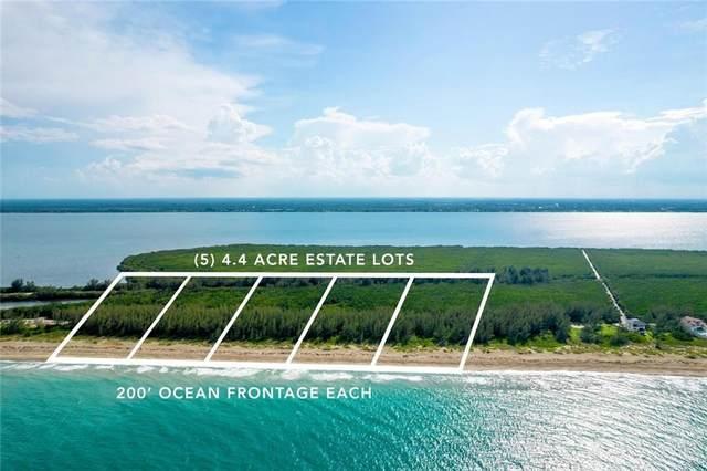 4560 S Ocean Drive, Fort Pierce, FL 34949 (MLS #247143) :: Kelly Fischer Team