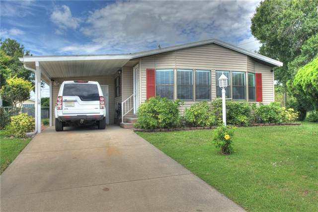 107 Cherokee Court, Barefoot Bay, FL 32976 (MLS #233315) :: Team Provancher   Dale Sorensen Real Estate