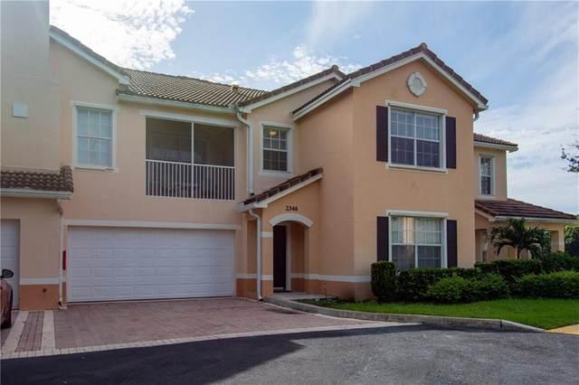 2346 57th Circle #2346, Vero Beach, FL 32966 (MLS #233654) :: Team Provancher | Dale Sorensen Real Estate