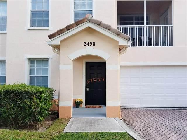 2498 57th Circle #2498, Vero Beach, FL 32966 (MLS #235648) :: Team Provancher | Dale Sorensen Real Estate