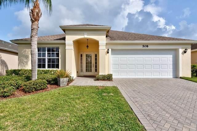 508 Calamondin Way SW, Vero Beach, FL 32968 (MLS #247184) :: Kelly Fischer Team