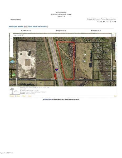 000 Unknown, Malabar, FL 32950 (MLS #219819) :: Billero & Billero Properties