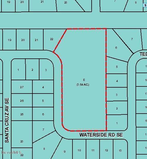 XXX Waterside Road SE, Palm Bay, FL 32909 (MLS #219952) :: Billero & Billero Properties