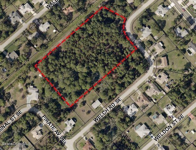 XXX Welch Road SE, Palm Bay, FL 32909 (MLS #219953) :: Billero & Billero Properties