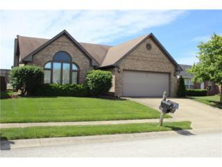 417 Polk Manor Drive, Greenwood, IN 46143 (MLS #21487378) :: Heard Real Estate Team