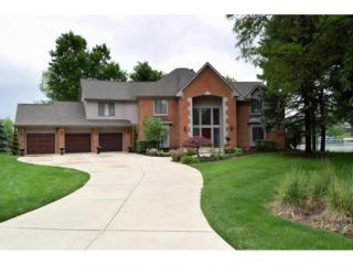 9702 Gulfstream Drive, Fishers, IN 46037 (MLS #21488381) :: The Gutting Group LLC