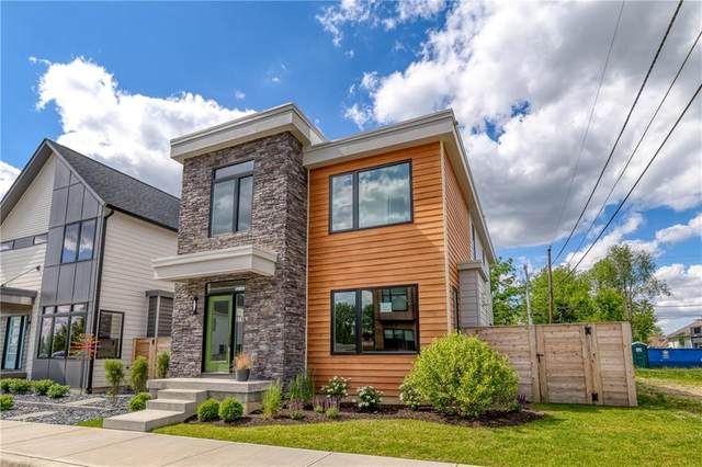 8748 Morgan Drive, Fishers, IN 46038 (MLS #21642603) :: AR/haus Group Realty
