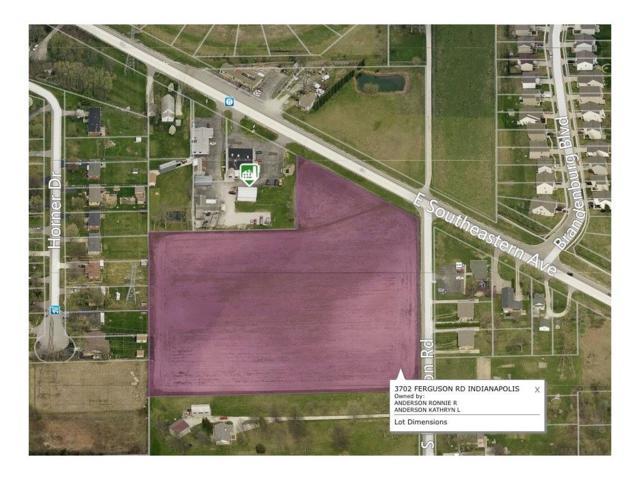 3702 Ferguson Road, Indianapolis, IN 46239 (MLS #21406384) :: Indy Scene Real Estate Team