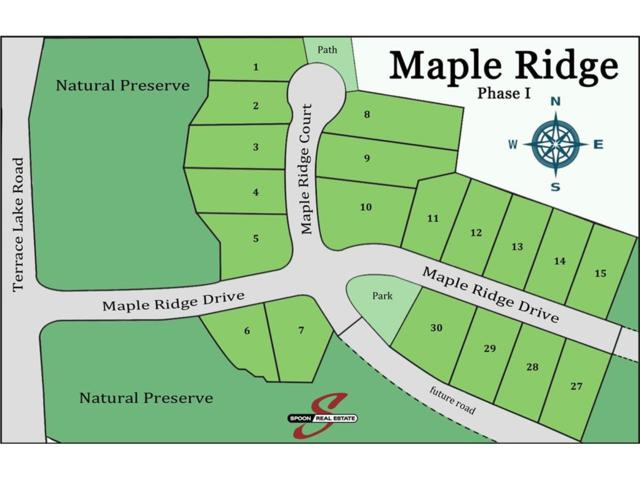 Lot 29 Maple Ridge, Columbus, IN 47201 (MLS #21462982) :: FC Tucker Company