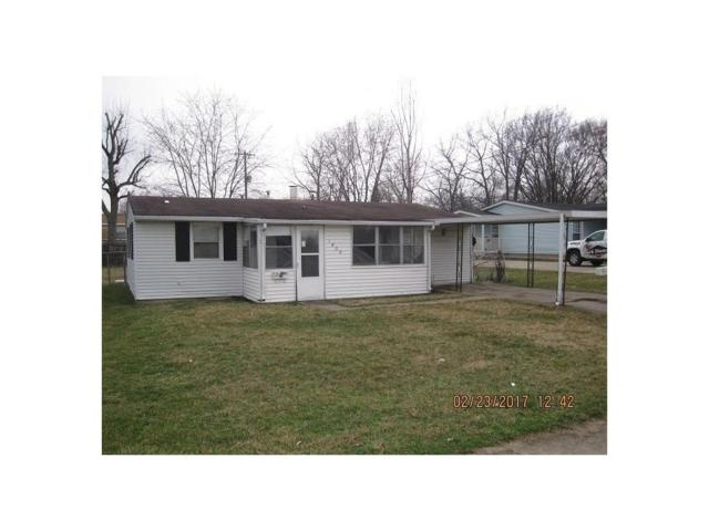 1509 Indiana Avenue, Anderson, IN 46012 (MLS #21474507) :: The Evelo Team
